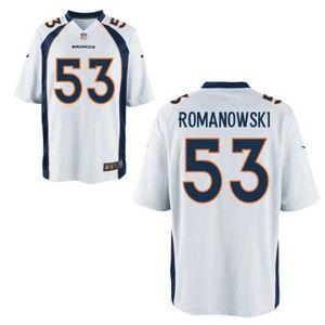 Bill Romanowski Denver Broncos Champion Jersey